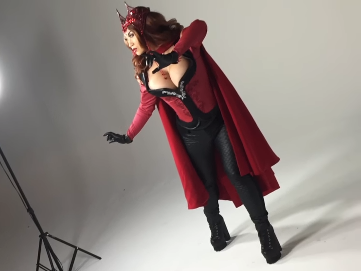Where to buy scarlet witch cosplay costume