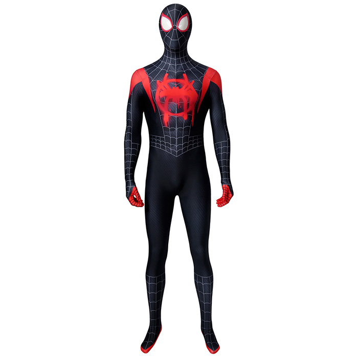 The Miles Morales's eventual spider man costume