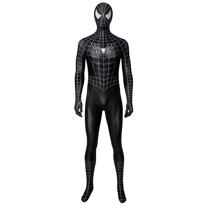 The Symbiotic spider man suits